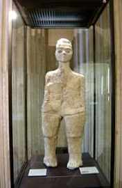 Statue from Ain Ghawn, Louvre Museum, Paris