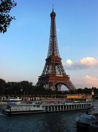 Eiffel Tower and Seine River, Paris