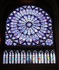 Notre Dame de Paris, North Rose Window