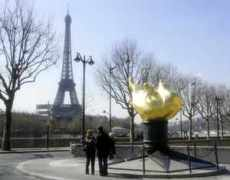 Eiffel Tower and Torch, Paris