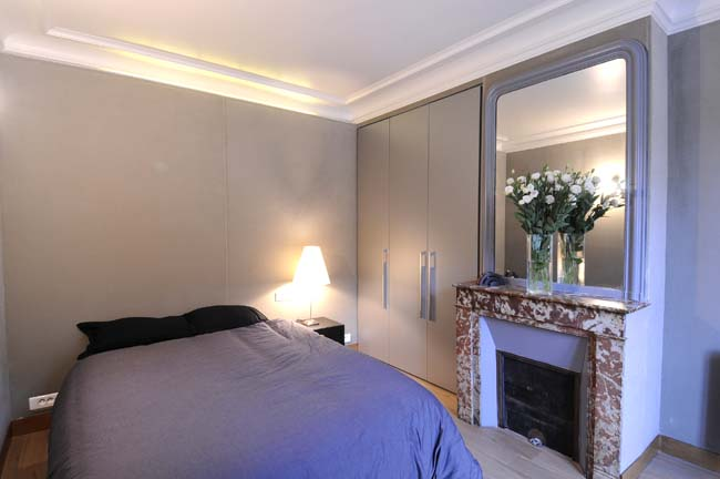 Montmartre Apartment Bedroom