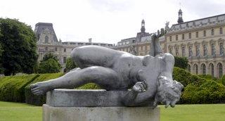 Tuileries Garden, Maillol Sculpture