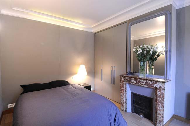 Montmartre Apartment Bedroom