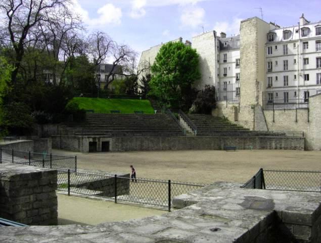 Arena of Lutece,Paris Roman Arena