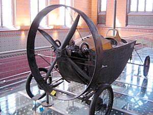 Propeller-Car, Musee des Arts et Metiers, Paris