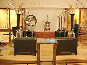 Lavoisier's Laboratory, Musee des Arts et Metiers, Paris