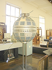 Telstar Model, Musee des Arts et Metiers, Paris