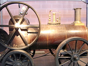 Steam Locomotive, Musee des Arts et Metiers, Paris
