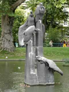 Square des Batignolles, Paris