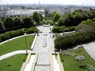 Parc de Belleville