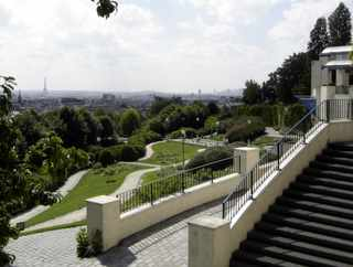 Parc de Belleville, Paris