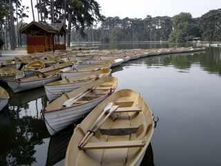 Boats in Bois de Boulogne, Paris