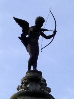 Champs Elysees Garden Cupid, Paris