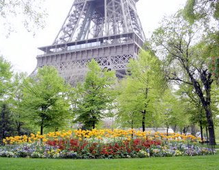 Eiffel Tower, Champ de Mars