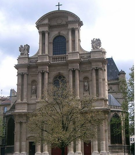 Church of St gervais and Protais, Paris
