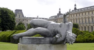Tuileries Garden, Maillol Sculpture