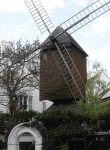 Montmartre Windmill, Paris