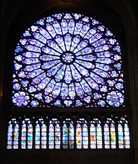 Notre Dame de Paris, North Rose Window