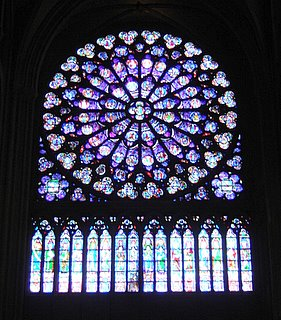 Notre Dame de Paris, South Rose Window
