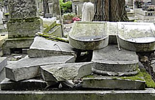 Ruins of Pere Lachaise, Paris
