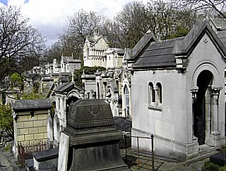 Tombs of Pere Lachaise, Paris