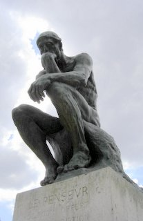 Rodin Museum, The Thinker, Paris