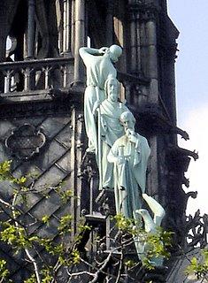 Notre Dame de Paris, Spire Statues