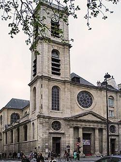 St jacques du haut pas, Paris