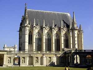 Chateau de Vincennes chapel, Paris