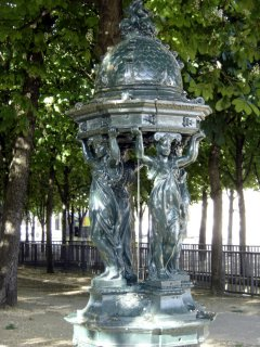 Wallace Fountain, Paris
