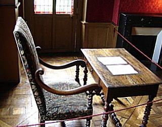 Writing Desk of Balzac, Paris