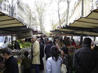 Paris Street Market People