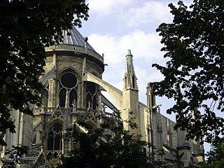 Notre Dame de Paris, Flying Buttress