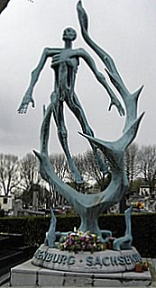 Holocaust Memorial, Pere Lachaise, Paris