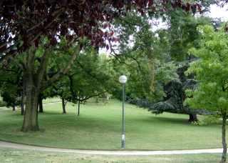 Parc de la Butte du Chapeau Rouge, Paris