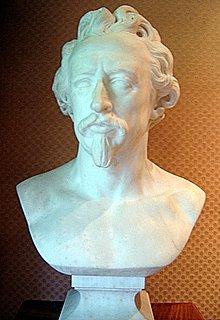 Museum of Romantic Life, Paris, Bust of Ary Scheffer