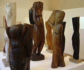 Zadkine Museum Wood Sculptures, Paris